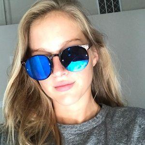 Spitfire sunglasses reflective blue shades